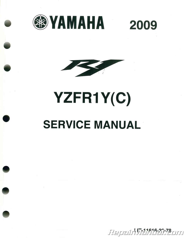 Yamaha Yzfr1 Motorcycle Service Manual