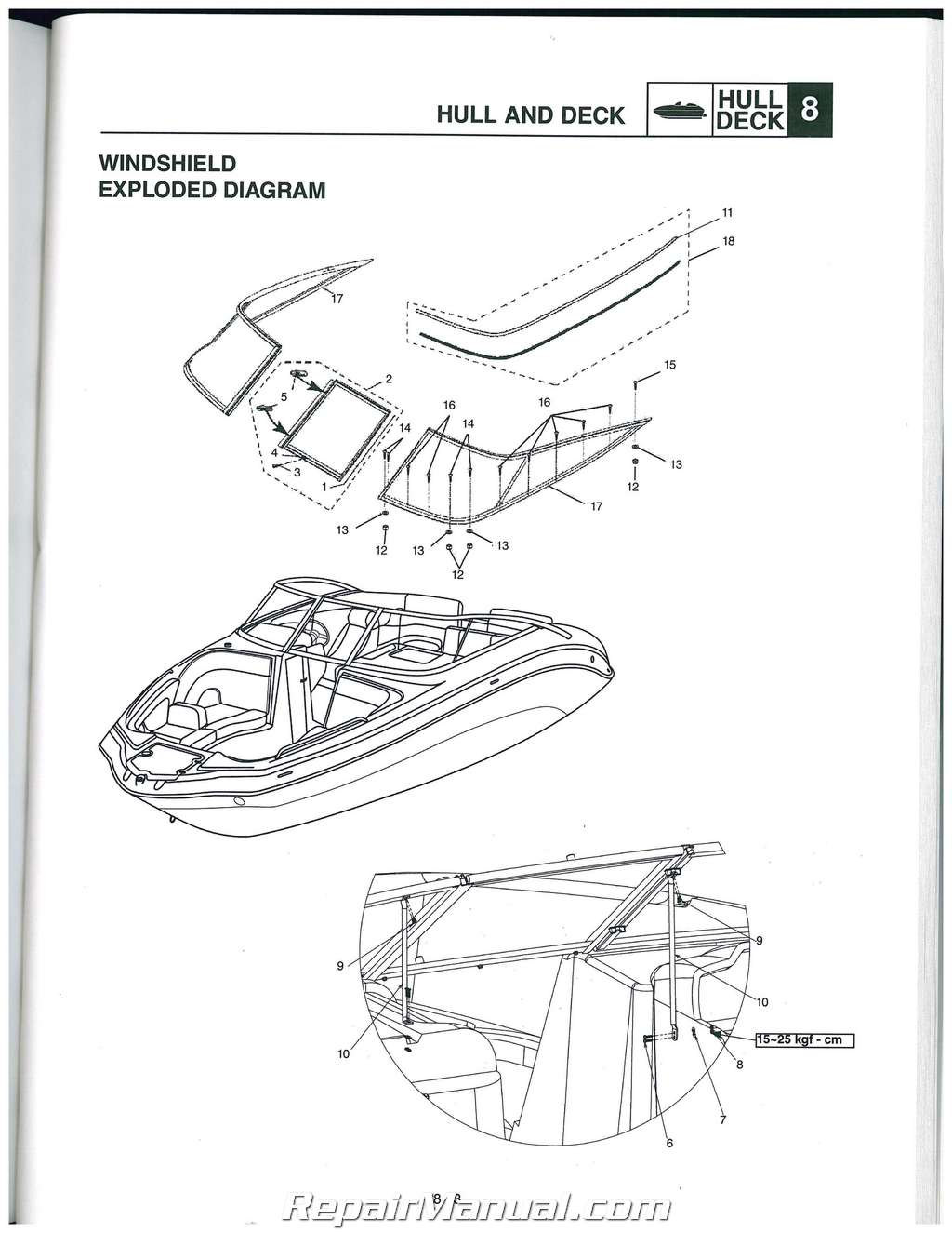 Foot Schematic Yamaha 225 Vmax