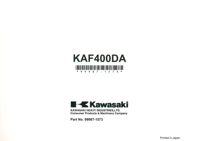 Kawasaki Mule 610 Oil Change