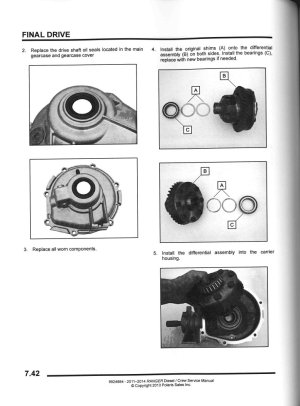 20112014 Polaris Ranger Diesel Crew UTV Service Manual