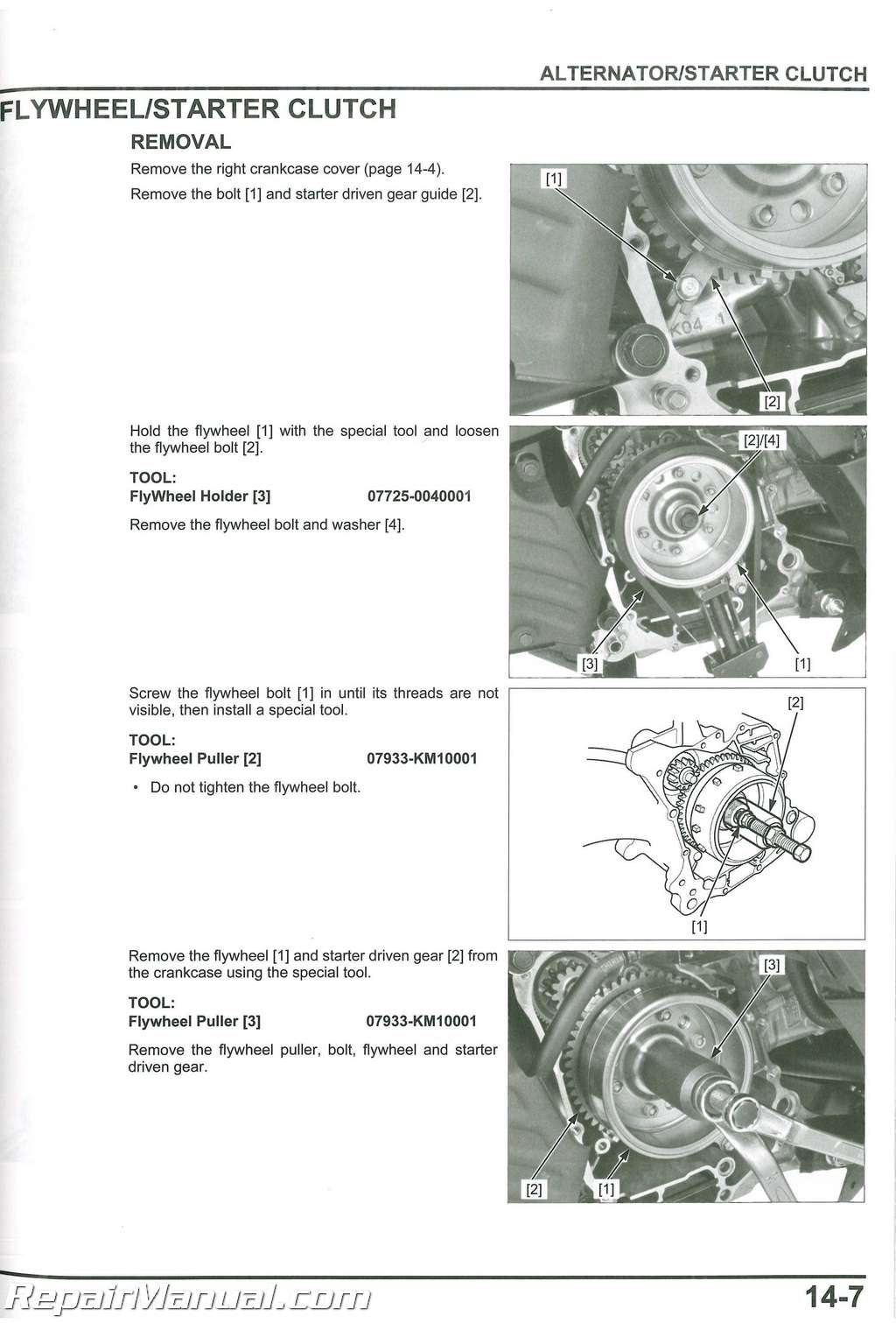 Honda Nss300 A Forza Scooter Service Manual