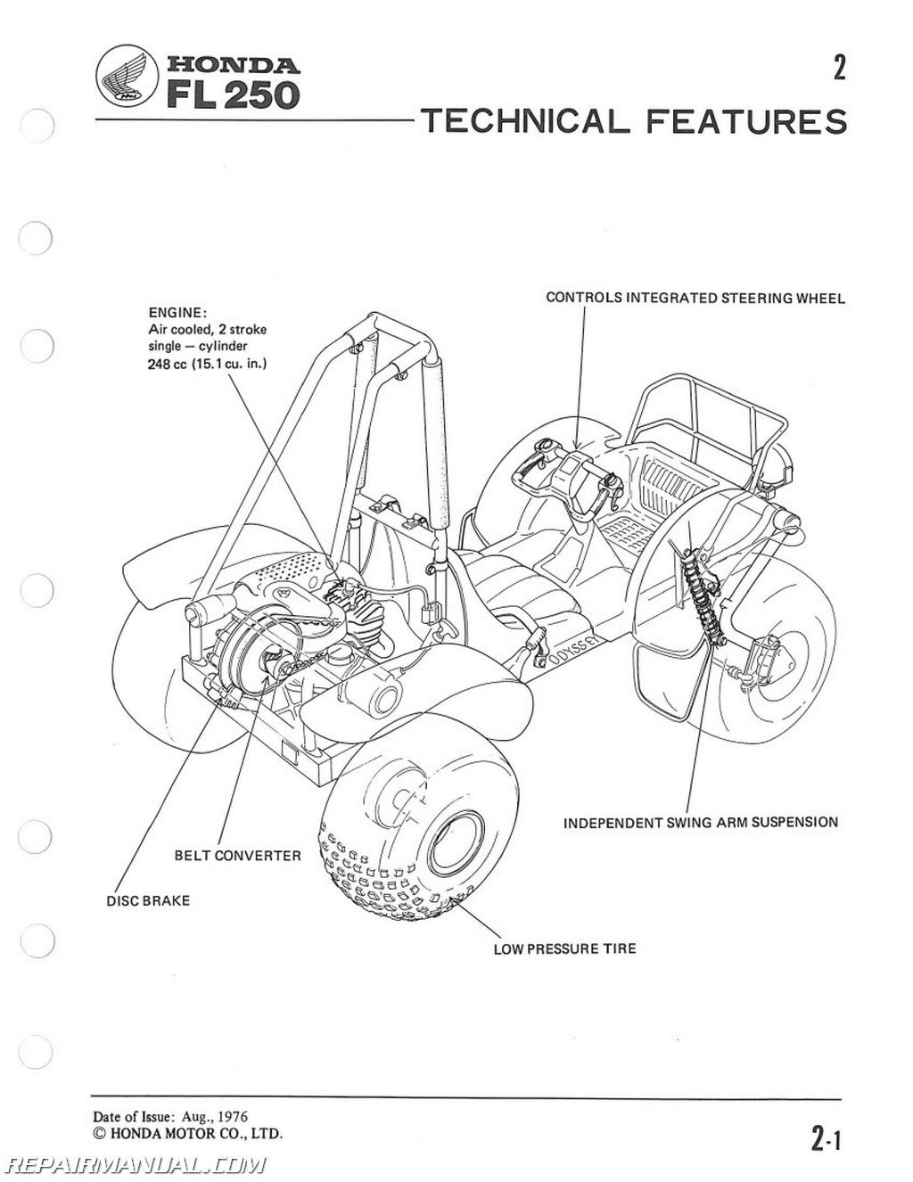 Honda Vt700c Shadow Diagram