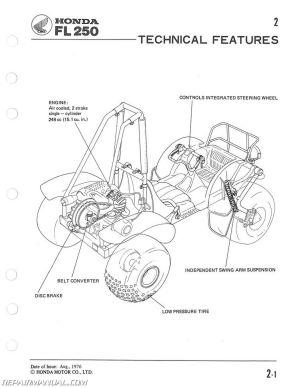 19771984 FL250 Honda Odyssey Service Manual
