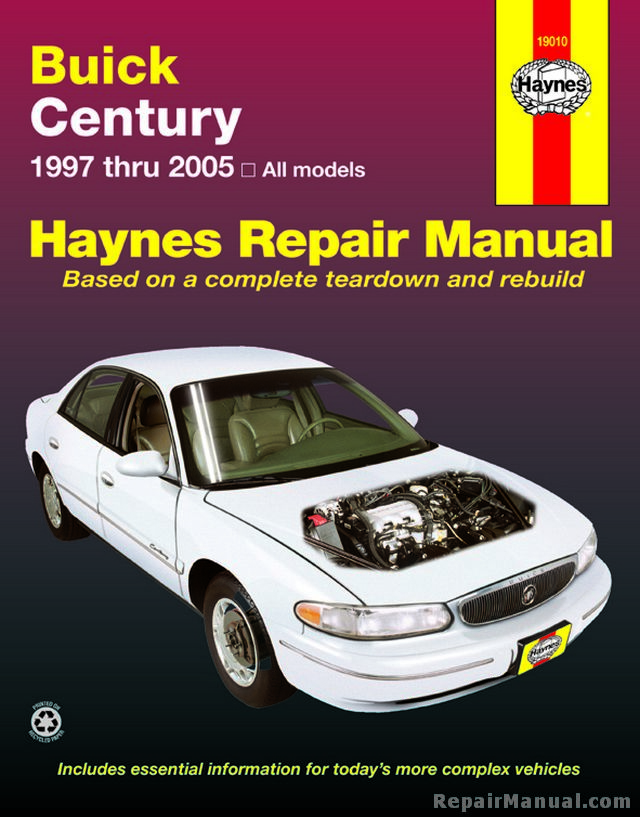 Haynes Buick Century 1997 2005 Car Repair Manual