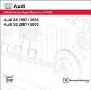 Audi A8 19972003 S8 20012003 Repair Manual On DVD