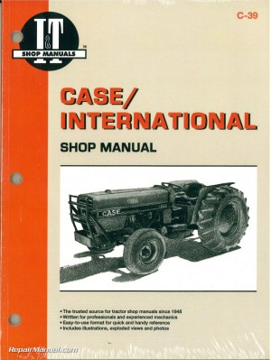 Case International 385 485 585 685 885 Tractor Workshop Manual