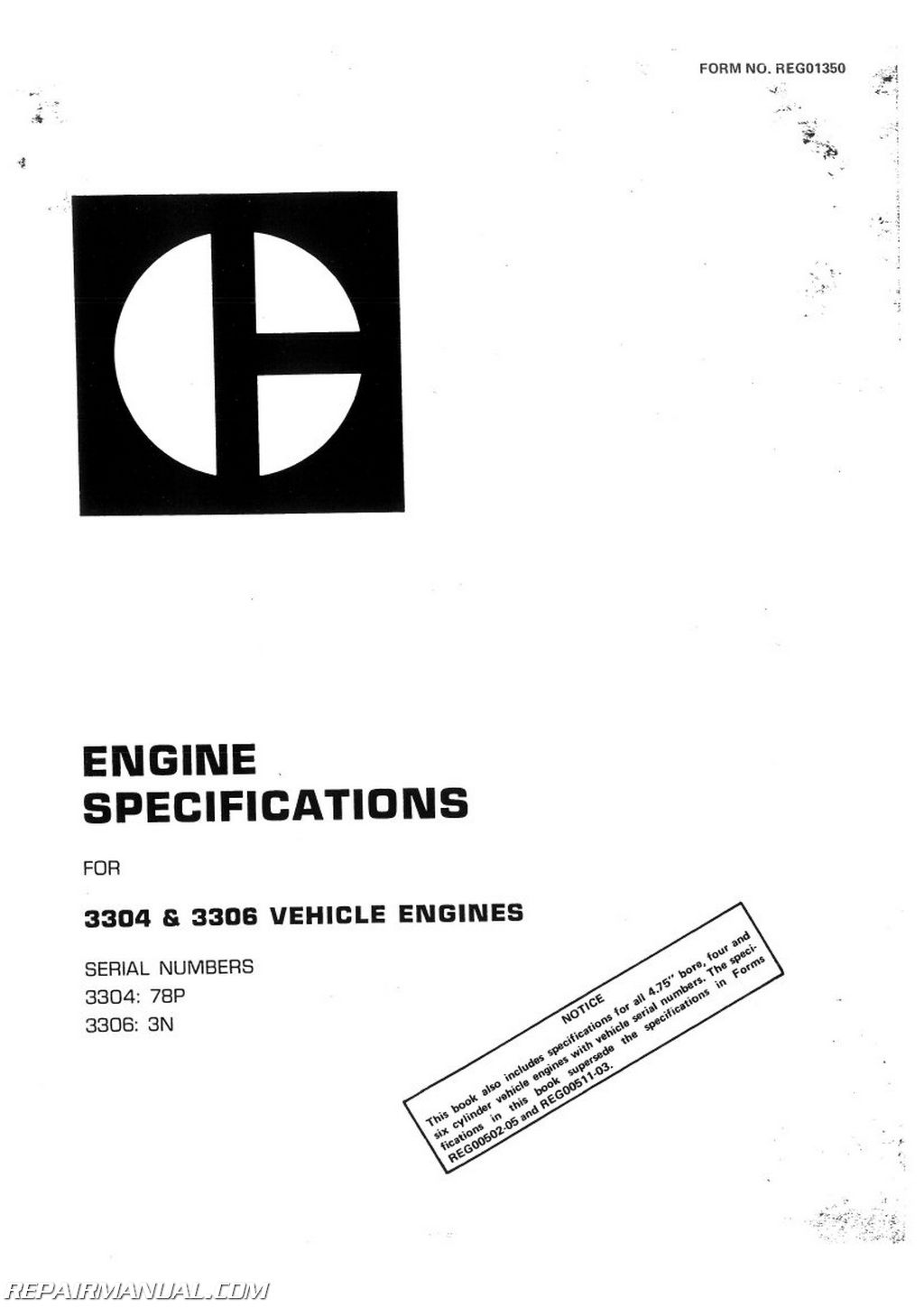 Caterpillar Grader 120g Service Manual