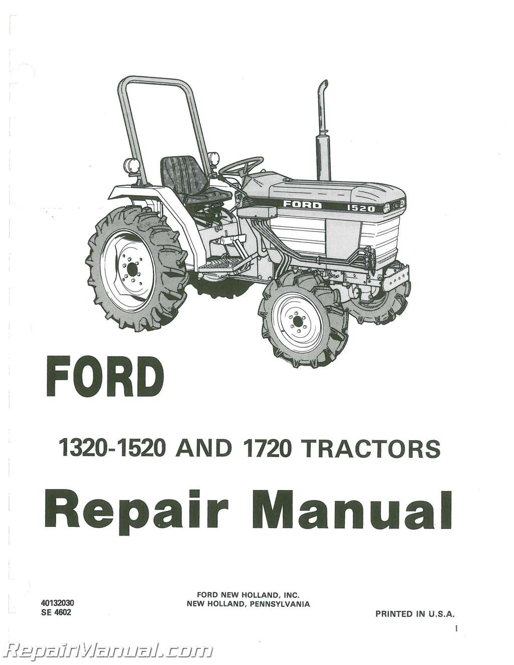 Ford Tractor Parts Diagram