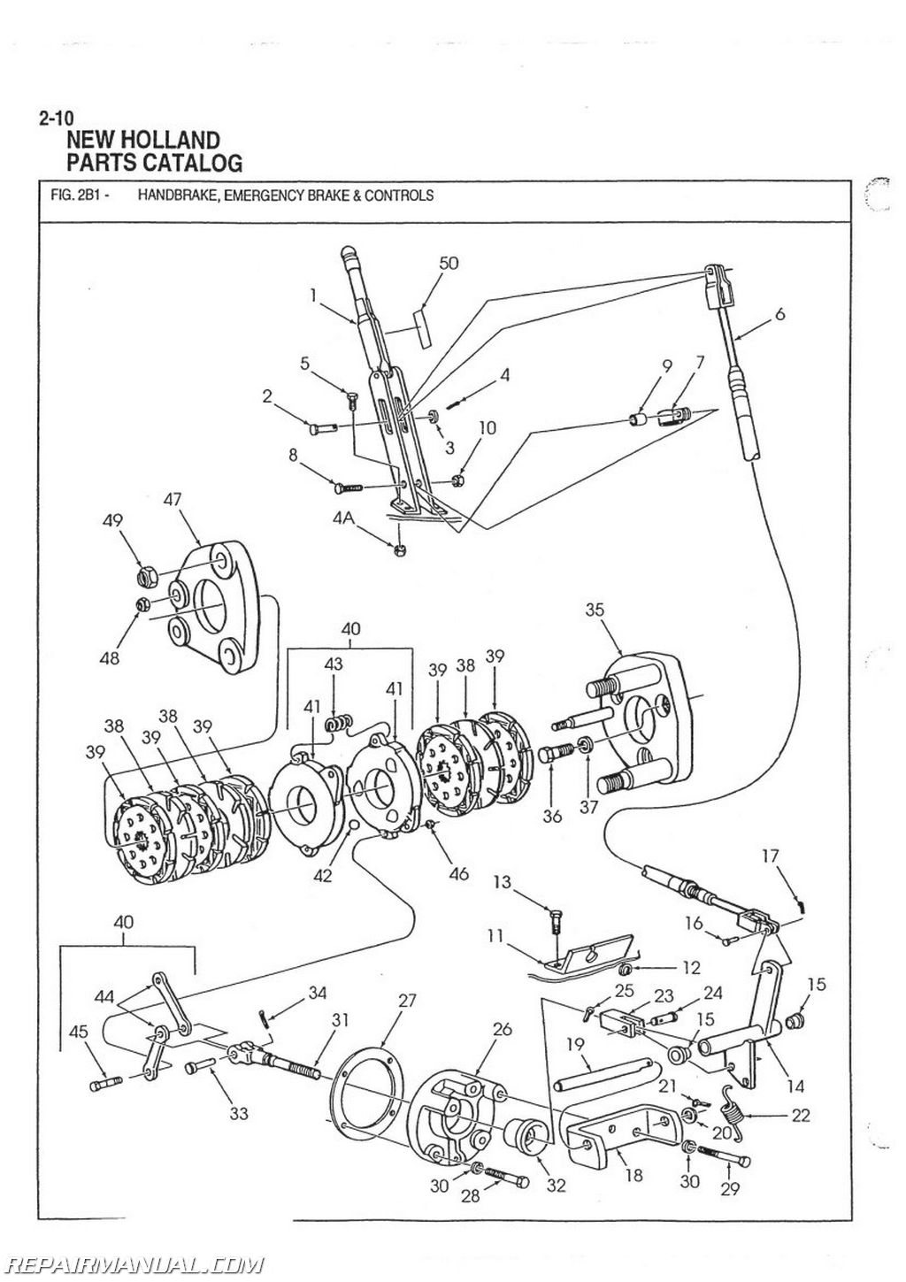 Ford 8n Part Diagram
