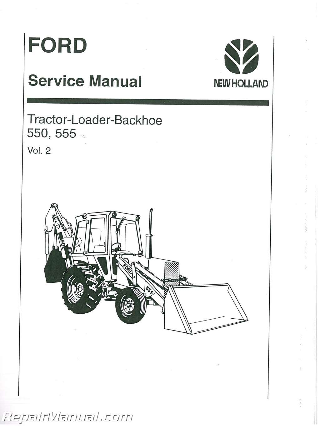Wrg Ford 555d Backhoe Wiring Diagram