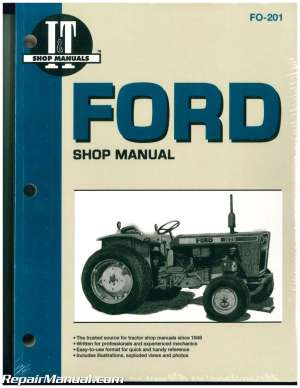 Ford Fordson Tractor Repair Manual Dexta, Super Dexta, Major Diesel, Super Major