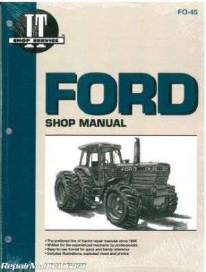 Ford New Holland 1120 1220 1320 1520 1720 1920 2120 Tractor Manual