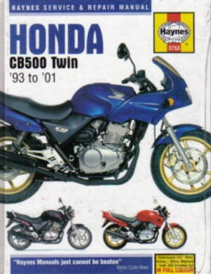 Haynes Honda CB500 19932001 Repair Manual