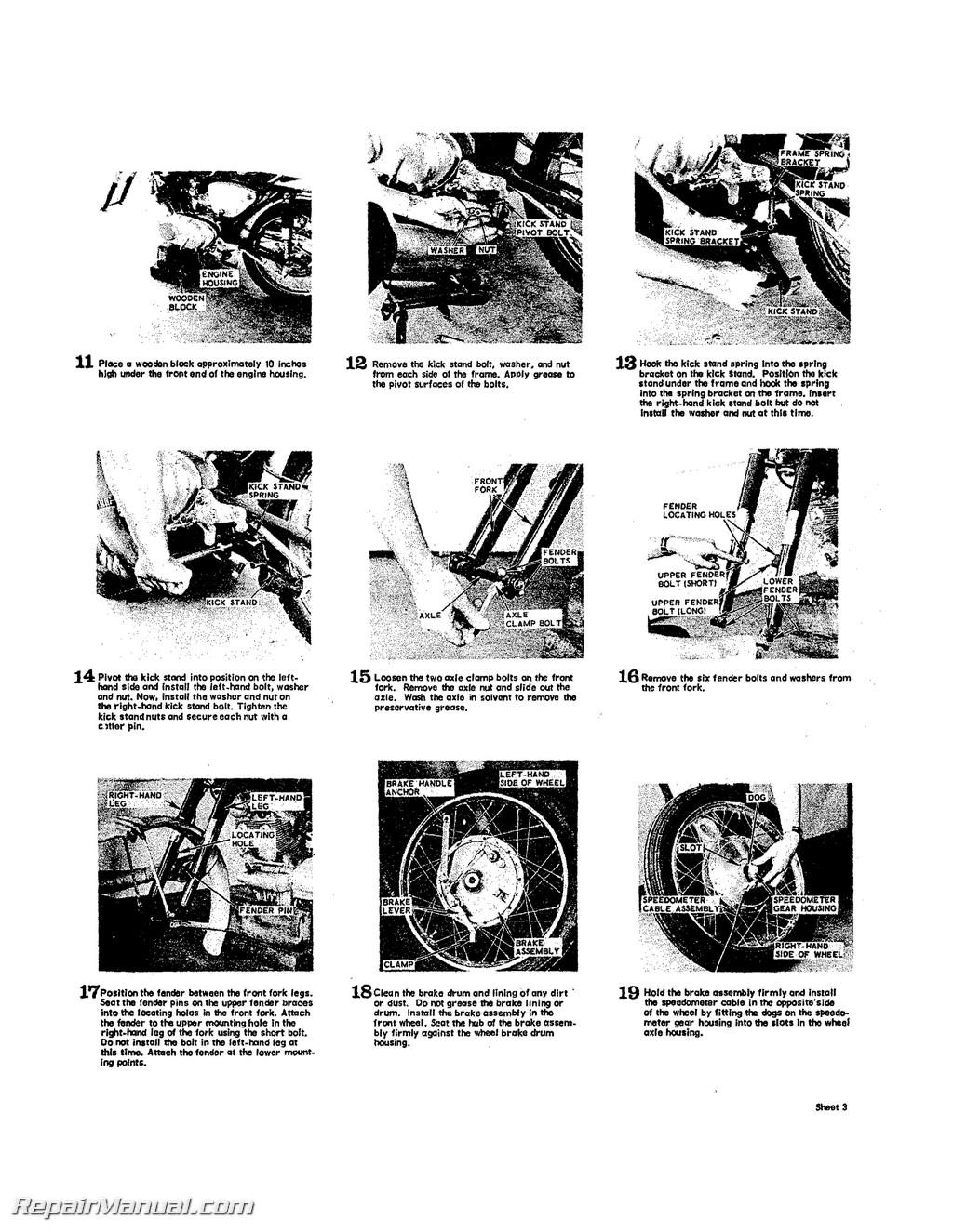 Honda Superhawk Amp Scrambler Motorcycle Restoration