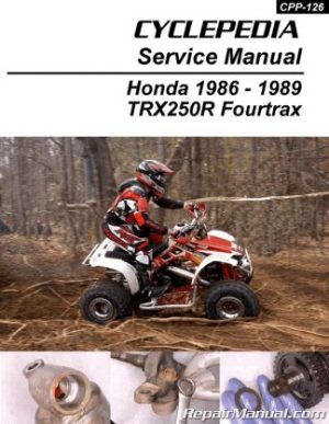 Honda CB250 Nighthawk Cyclepedia Printed Motorcycle Repair Manual
