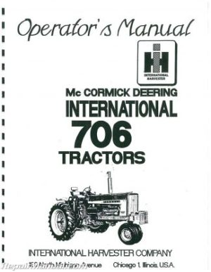 DeutzAllis 5220 5230 Diesel 2 and 4WD Synchro Lawn and Garden Tractor Service Manual
