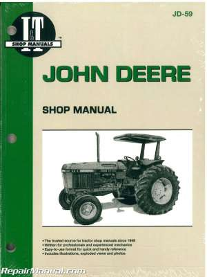 John Deere 2750 2755 2855 2955 Tractor Workshop Manual
