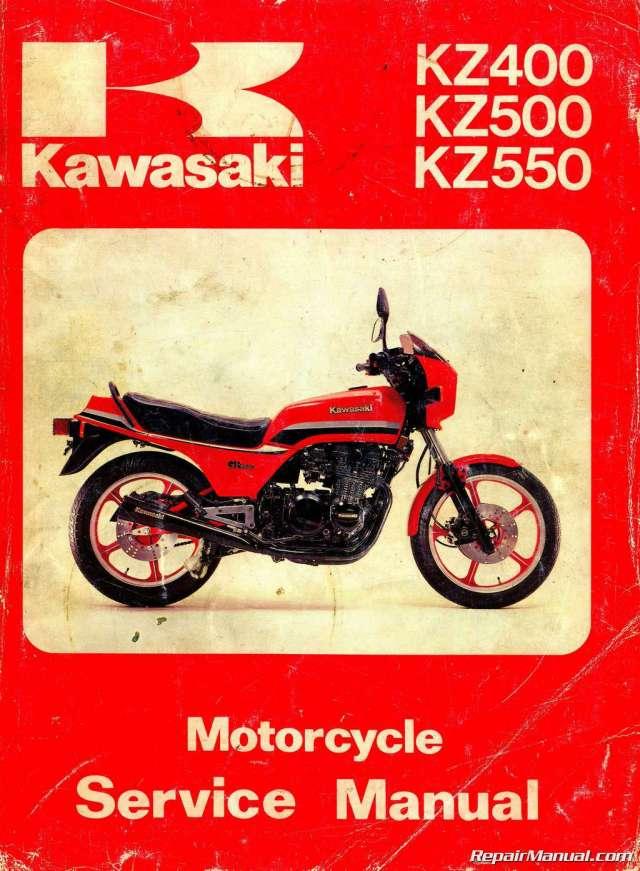 1982 Kawasaki Gpz 550 Service Manual