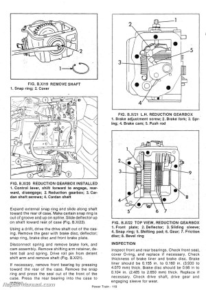 Long 560 610 Tractor Service Workshop Repair Manual