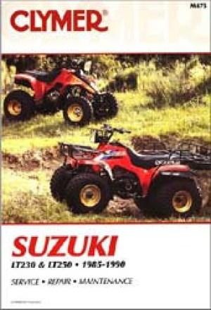 19851990 Suzuki LT230 LT250 ATV Repair Manual by Clymer