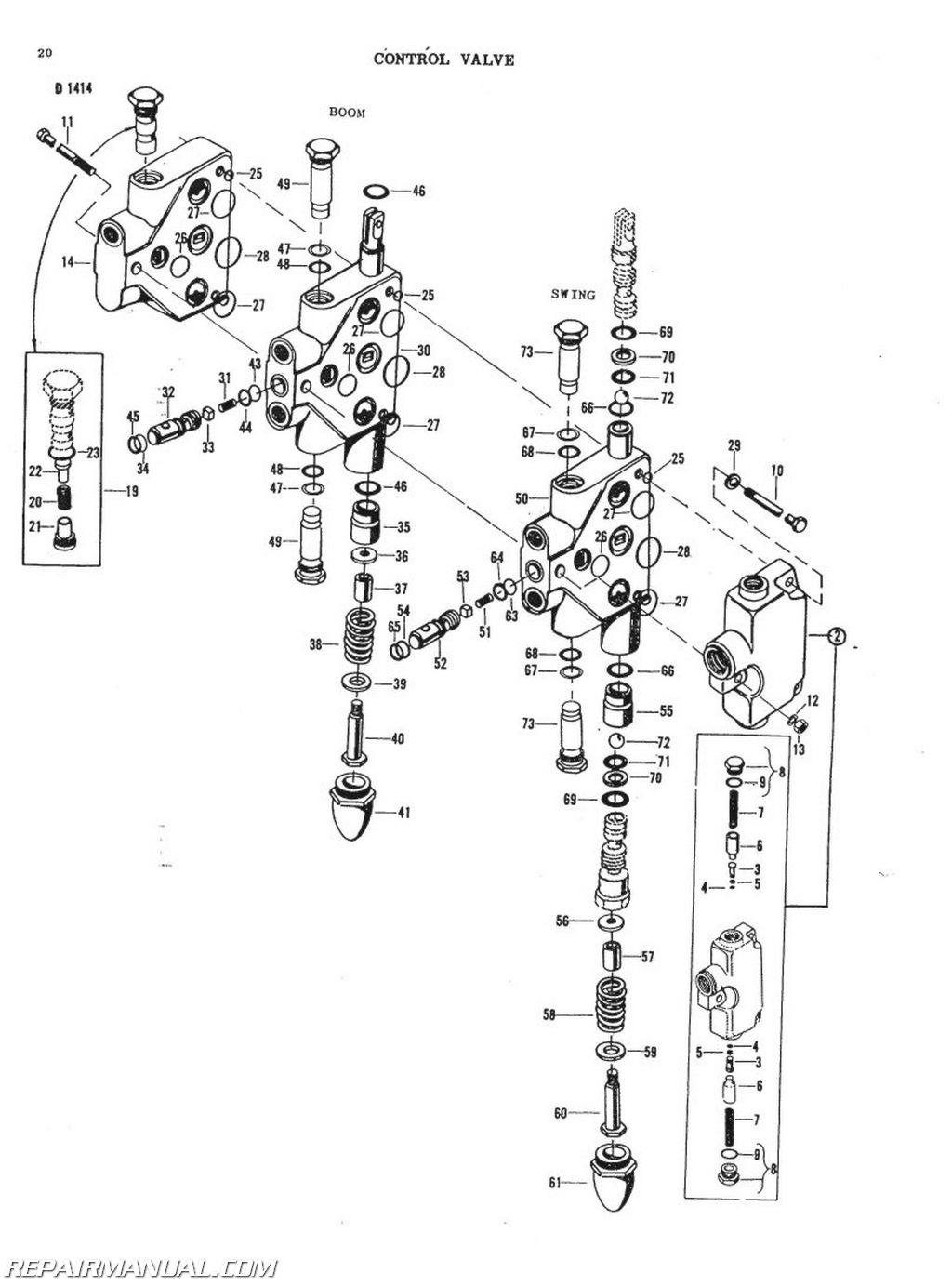 backhoe schematic