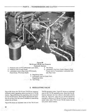 Ford TW10 TW20 TW30 Tractor Service Repair Manual