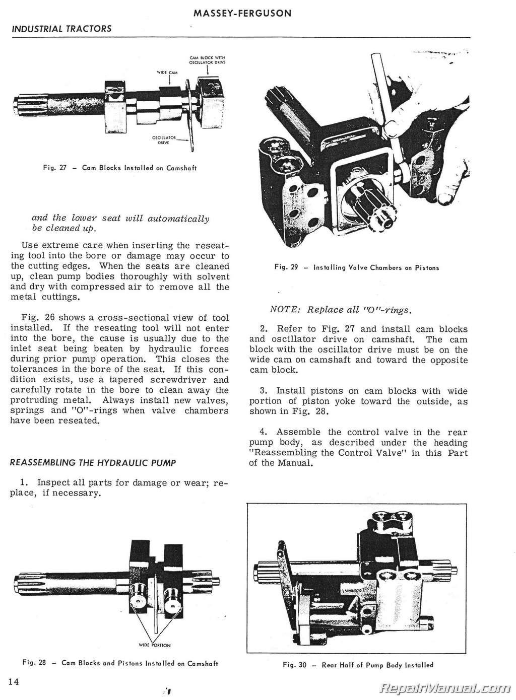 Massey Ferguson 471 Owners Manual