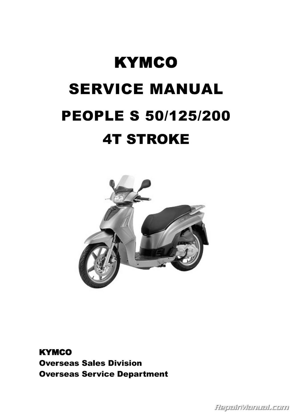 Kymco People 50 Wiring Diagram