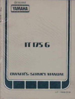 1977 Honda CR125M Elsinore Motorcycle Service & Owners Manual