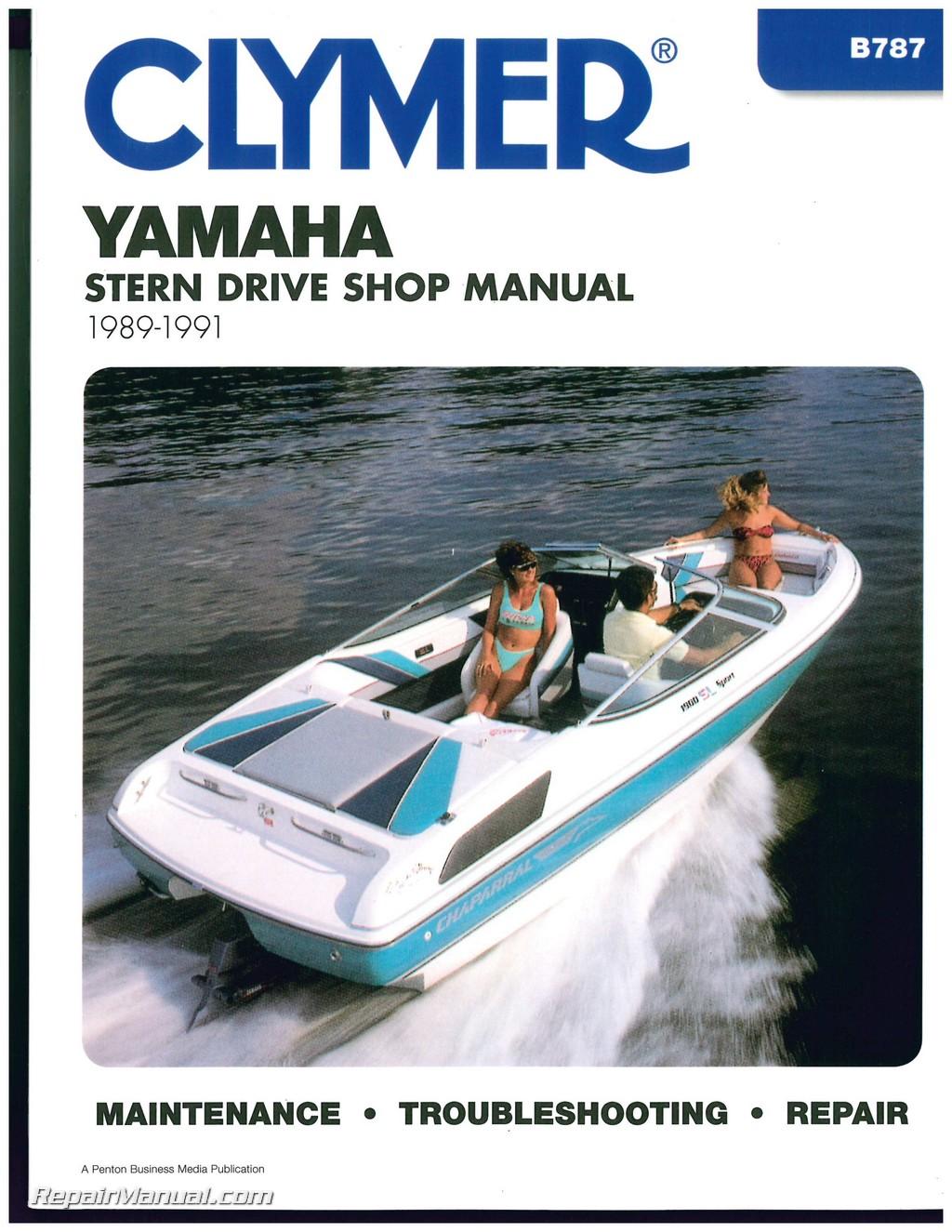 Yamaha Stern Drive Clymer Boat Engine