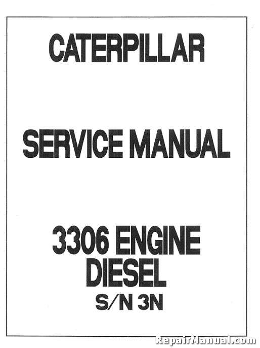free caterpillar engine manuals online # 62