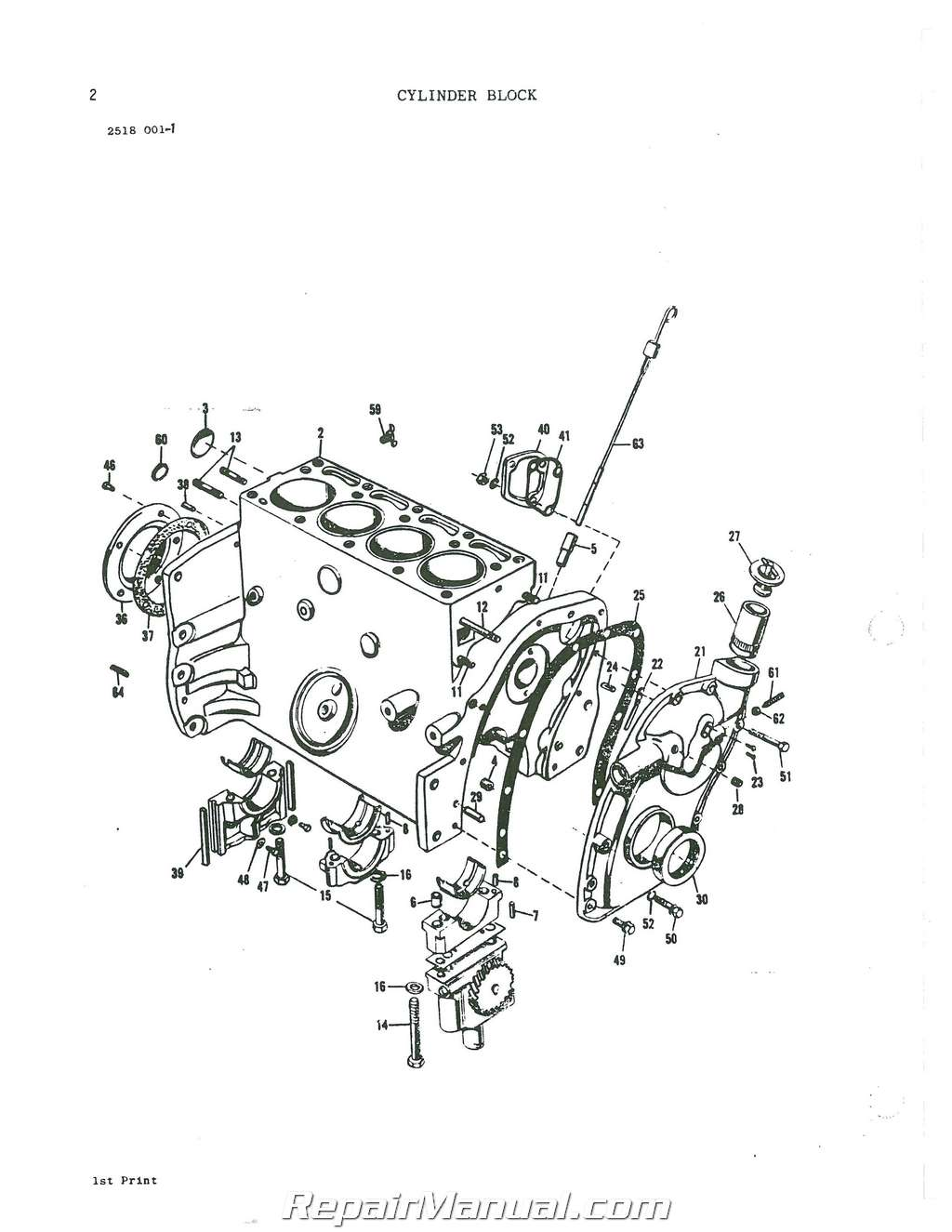 Massey Ferguson 245 Parts Manual