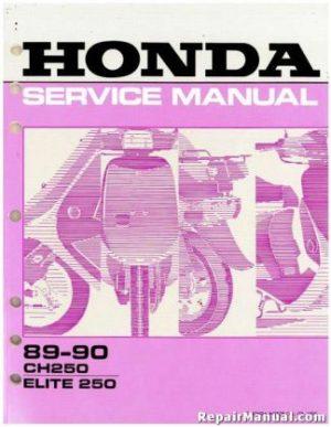 1988 Honda VT800C Motorcycle Service Manual