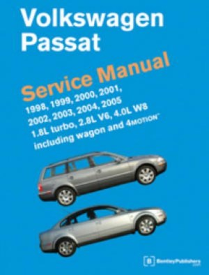Volkswagen Passat Service Manual 19982005 18L turbo 28L