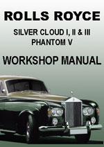 Rolls Royce, Repair Manuals, Workshop Manuals, Service Manuals