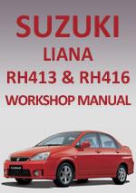 Suzuki Liana RH413416 20012007 Workshop Repair Manual