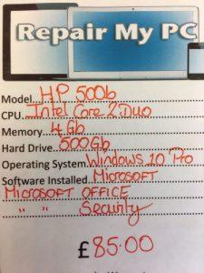 Quality refurbished PC