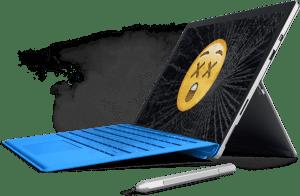 Microsoft Surface Reparatur Bundesweit nur Original Ersatzteile