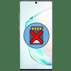 Почему смартфон не видит карту памяти?