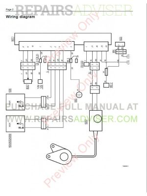 Volvo Trucks FL7 FL10 FL12 Wiring Diagram Service Manual PDF Download
