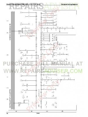 Volvo Trucks FM791012, FH1216, NH12 Wiring Diagrams