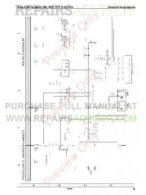 Volvo Trucks FM712, FH1216, NH12 Wiring Diagram Service Manual