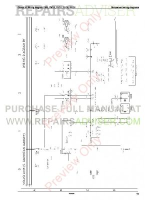 Volvo Trucks FM791012, FH1216, NH12 Wiring Diagrams Service Manuals PDF Download