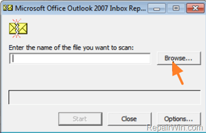 How to Repair Outlook PST Data File(s) with Inbox Repair Tool (SCANPST).