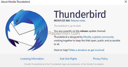 How to Move Thunderbird Profile to a New location