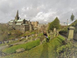 Glasgow, Scotland. The Cathedral and the Necropolis of the biggest Scotish city, Σκωτία