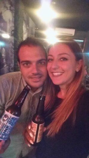 Repanaki team, Beer tasting, Brewdog beers, U Fleku