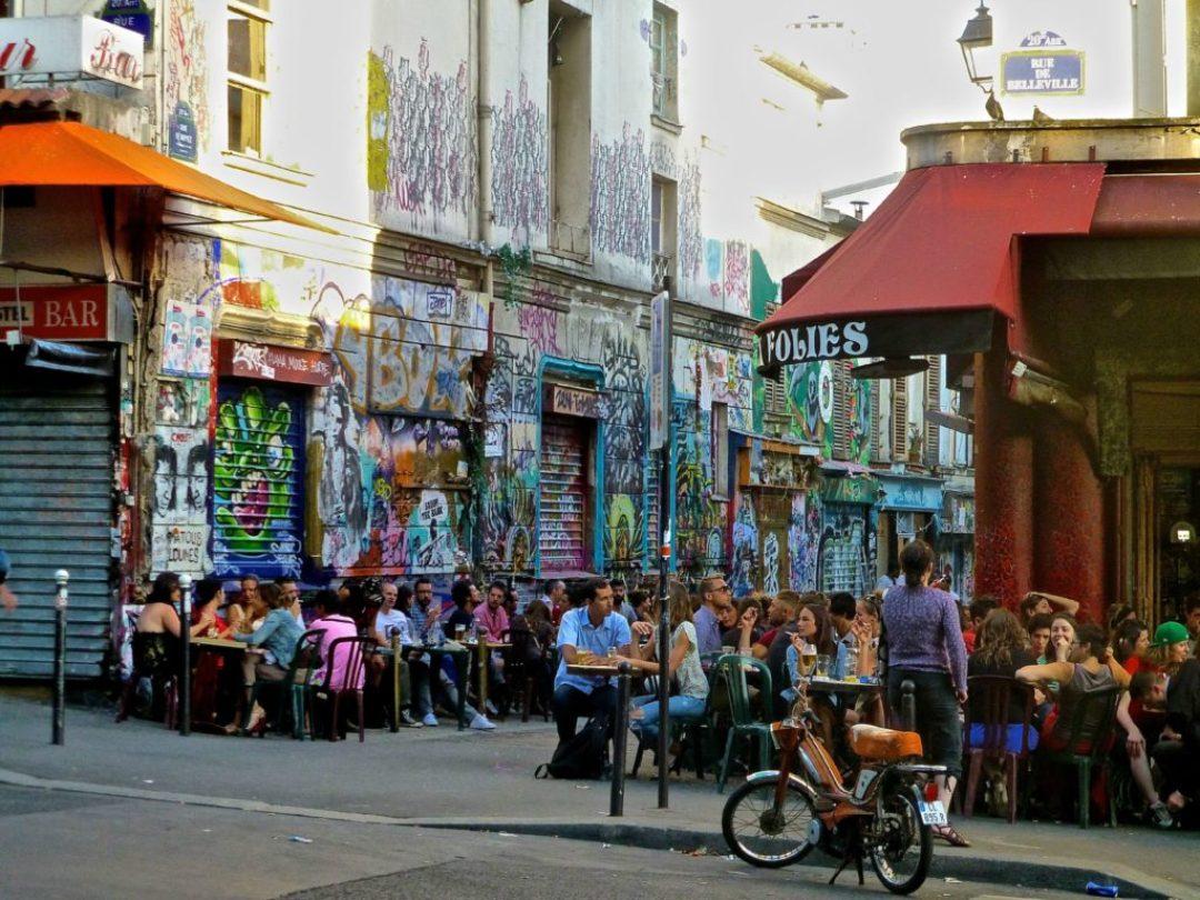 belleville, μια από τις πιο κοσμοποιτικες συνοικίες του Παρισιού