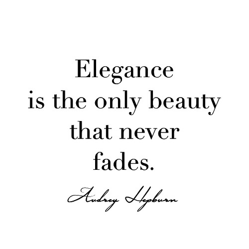 Elegance, style, fashion. Does your style rock?