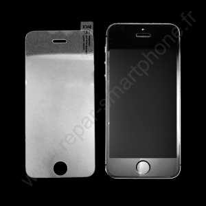 protection écran verre trempé iphone 5 avec un iphone 5 à côté